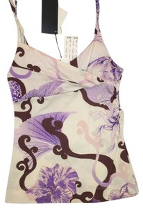 Just Cavalli Top White/purple