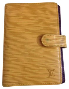 Louis Vuitton Louis Vuitton Agenda PM Planner w/ Insert Epi YELLOW PURPLE