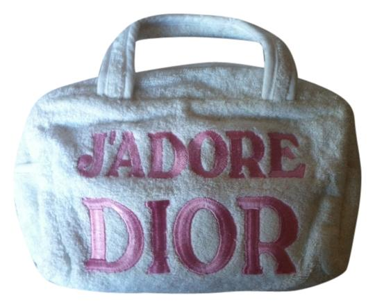Dior white Travel Bag