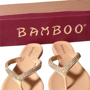 Bamboo Nude Sandals