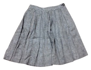 Max Studio Skirt Gray