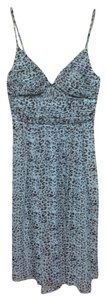 Blue Animal Print Maxi Dress by Max and Cleo