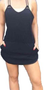 Lululemon New With Tags Lululemon Sweaty Or Not Black Runsie Romper Size 4