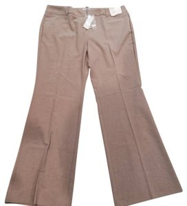 New York & Company Flare Pants Camel