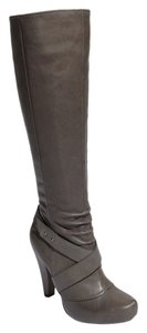 Seychelles Knee High Buckle Strap Gray Boots