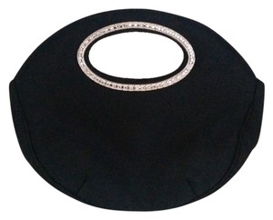 *Reduced* Franchi Satin Black Clutch