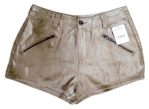 Free People Shorts Gold