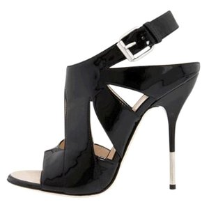 Giuseppe Zanotti Evening **New** Black patent leather Sandals