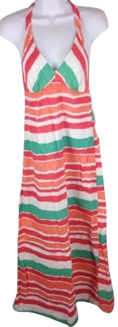 Item - Coral Casual Maxi Dress Size 4 (S)