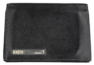 Cartier Cartier Santos de Cartier Black Leather Credit/Business Card Wallet