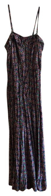 blue, green, purple, yellow Maxi Dress by Forever 21 Plus-size Maxi