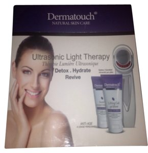 Dermatouch Dermatouch ultrasonic light therapy kit lifting gel facial peel 3 pieces set