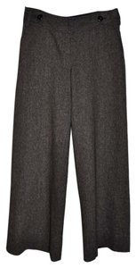 Ann Taylor LOFT Fit Style Tweed Trouser Pants Brown