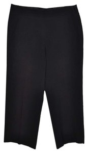 Tahari Resort Cruise Vacation Capri/Cropped Pants Black