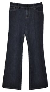 Chico's Stretch Denim Flare Leg Jeans-Dark Rinse