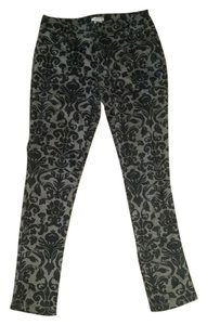 Xhilaration Skinny Pants black/grey