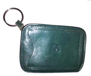 Il Bisonte Vintage Zipper Coin & Card Holder