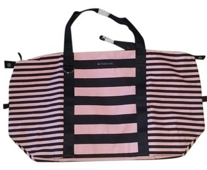 Victoria's Secret pink and black Travel Bag