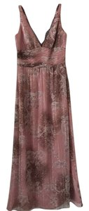 Pink/leopard Maxi Dress by Kay Unger
