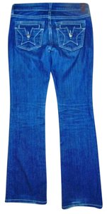 People's Liberation Peoples Size 25 Boot Cut Jeans-Medium Wash