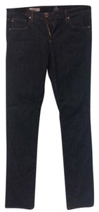 AG Adriano Goldschmied Stevie Slim Straight Leg Jeans-Dark Rinse