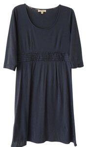 Burberry short dress Navy on Tradesy
