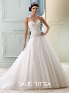 David Tutera For Mon Cheri 215273 Wedding Dress