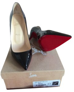 Christian Louboutin Pigalle 120mm 40.5 40 Black Pumps