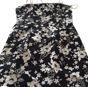 All That Jazz short dress Black/white floral on Tradesy