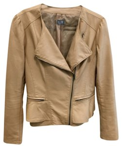 Cusp by Neiman Marcus Light tan Leather Jacket