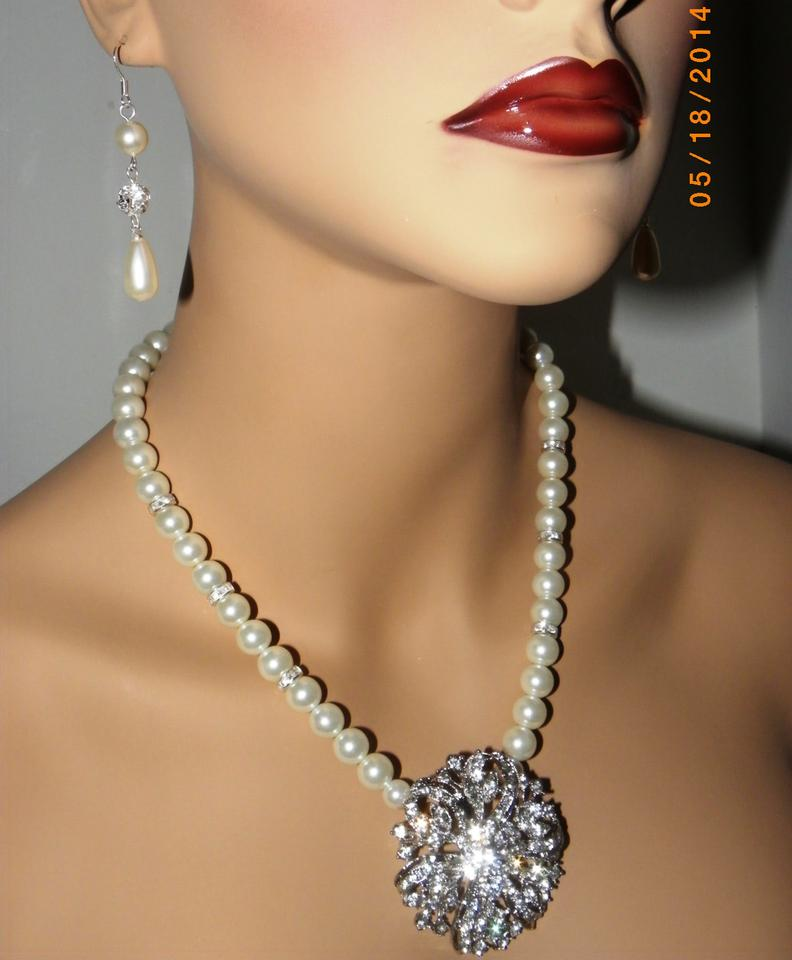 Pearl Necklace Styles: Other Vintage Style Pearl Wedding Bridal Necklace Pearl