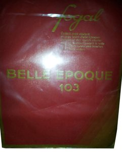 Other Vintage Fogal Belle Epoque 103 Black Size L Sheer with Seams