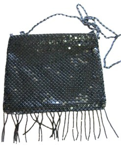 Nytlites Metal Chain Mesh Flapper Shoulder Bag