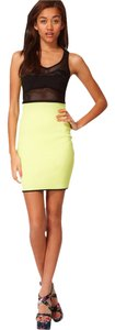 River Island Bodycon Mesh Bright Chic Dress