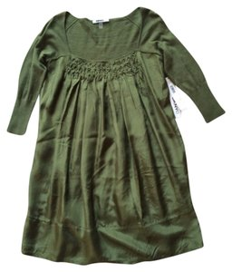 DKNY short dress Olive Green on Tradesy