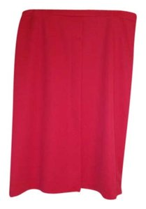 Cape Code Match Mates Skirt Red coral color