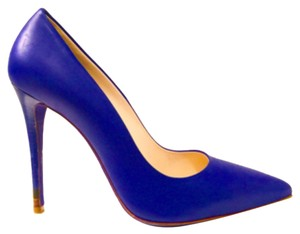 Fendi Blue Neon Pumps