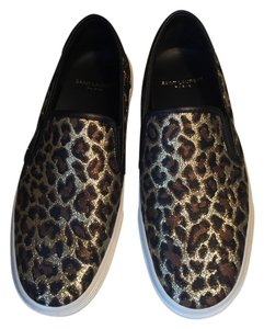Saint Laurent Skate Slip On Leopard Flats