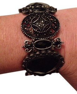 0 Degrees Vintage Black Stone Bracelet