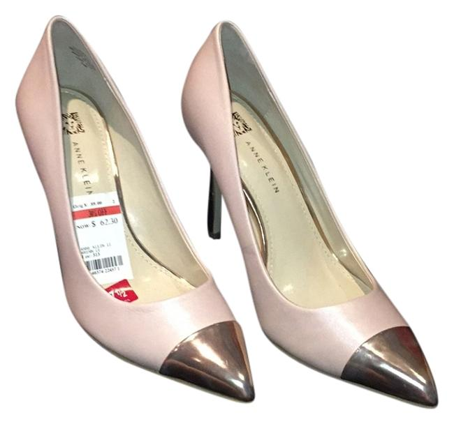 Item - Rose Pink / Gold Pumps Size US 7.5 Regular (M, B)