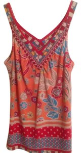 Top Red & Multi Colors