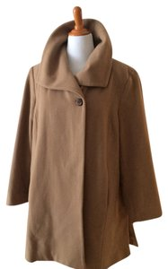 Hilary Radley Cashmere 3/4 Length Midi Pea Coat