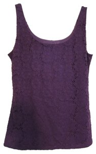 White House | Black Market Sleeveless Tank Top Purple