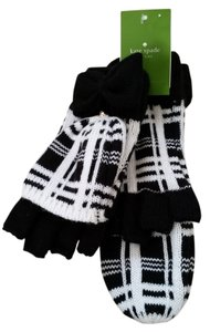 Kate Spade KATE SPADE NEW YORK Plaid Mittens
