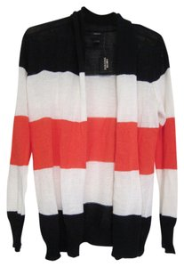 Forever 21 Striped Multi Colored Cardigan