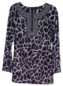 INC International Concepts Animal Print Tunic
