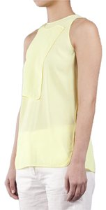 Alexander Wang Silk Top Yellow