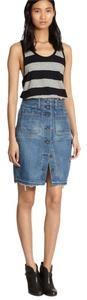 Rag & Bone Jean Frine Denim Skirt Santa Cruz