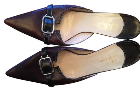 Cole Haan Plum with black accents Pumps