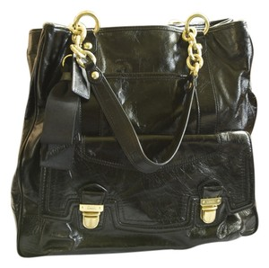 Coach Limited Edition Leather Tote in Black